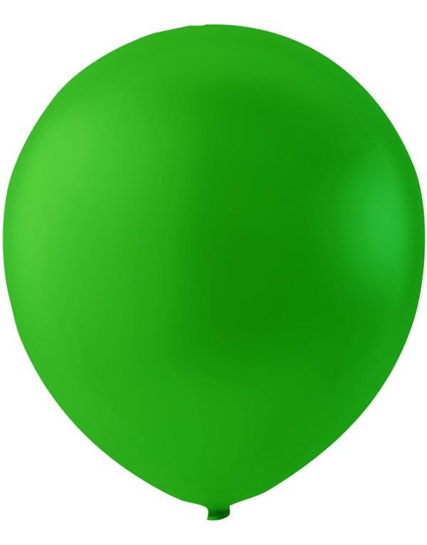 100 stk 30 cm MEGAPACK - Grønne Ballonger