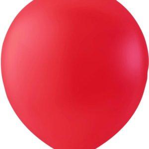 100 stk 30 cm MEGAPACK - Røde Ballonger