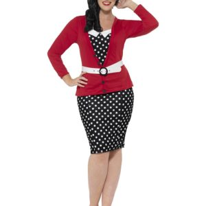 50-Talls Pin Up Damekostyme