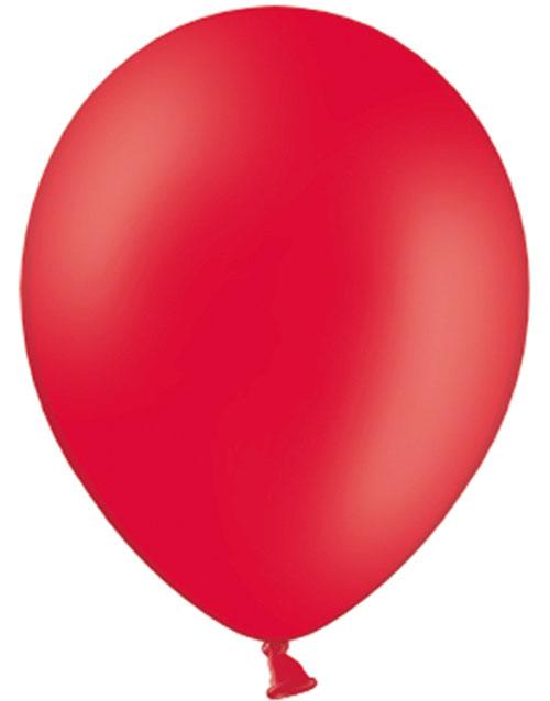 50 stk 30 cm - Røde Ballonger