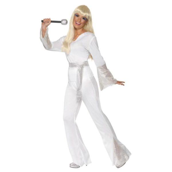 70 talls ABBA Disco Lady Kostyme - L