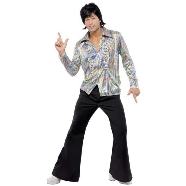 70s Psykedelisk Disco Kostyme - XL