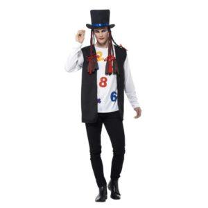 80 talls Boy George Pop Kostyme - L