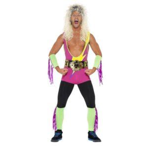 80 talls Wrestling Kostyme - XL