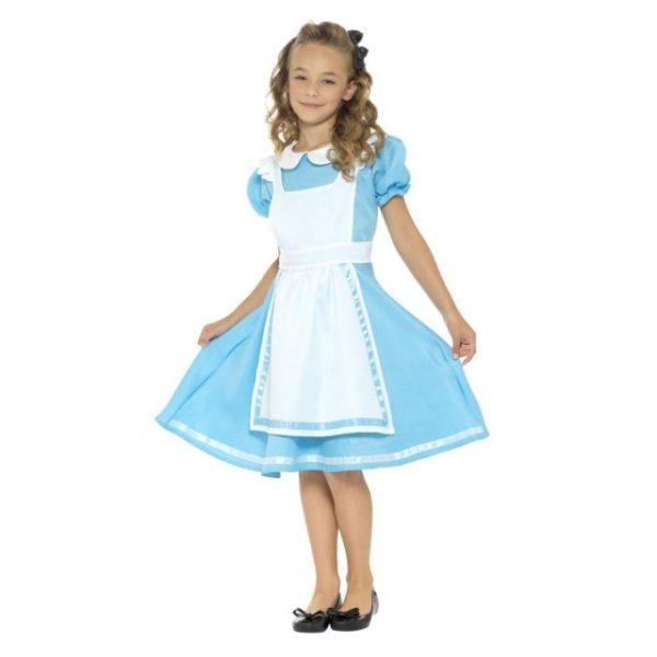 Alice i Eventyrland Kostyme - S