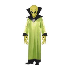 Alien Lord Grønn Kostyme