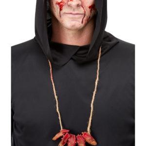 Avkuttede Blodige Fingre Kostymesmykke