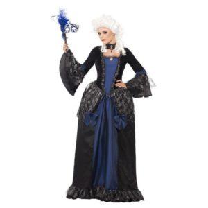 Barokk Maskerade Kostyme - S