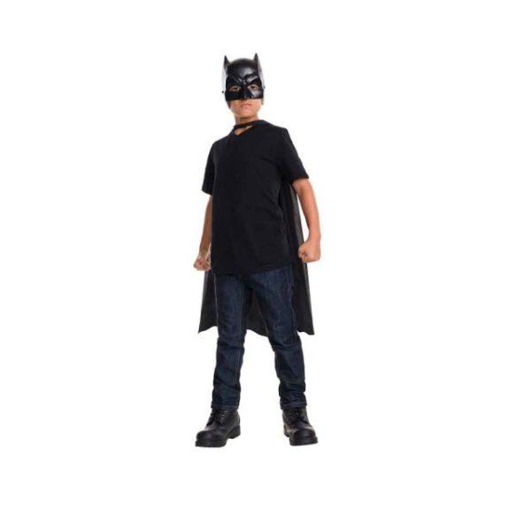 Batman Kappe og Maske Barnekostyme
