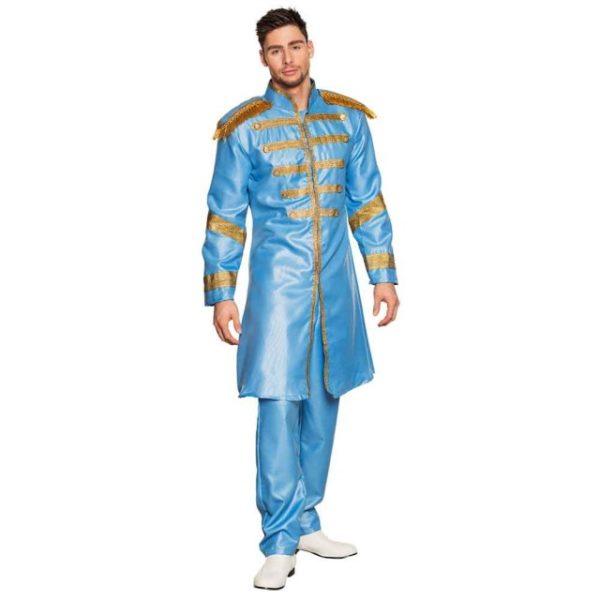 Beatles Blå Sgt. Peppers Kostyme 58/60