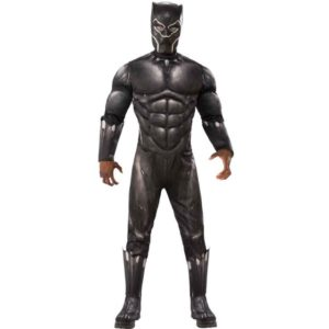 Black Panther Deluxe Kostyme STD