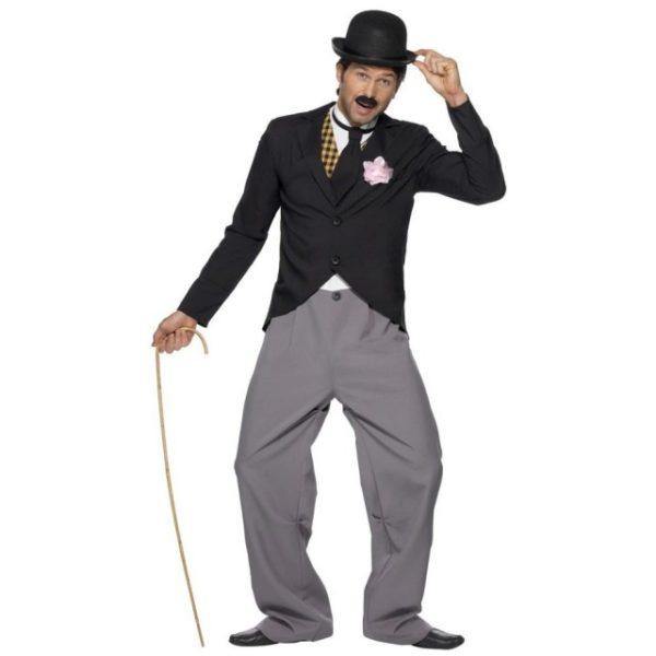 Charlie Chaplin Kostyme - L