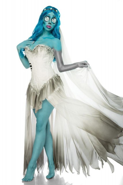 Corpse Bride Kostyme - S
