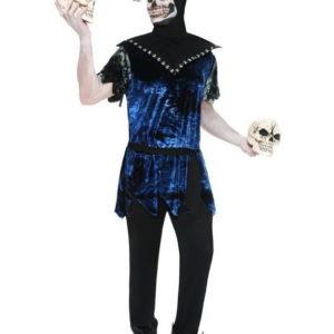 Corrupt Court Jeater - Kostyme med Maske og Horn
