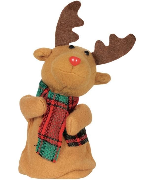 Dansende Rudolf - Julefigur med Musikk og Bevegelse