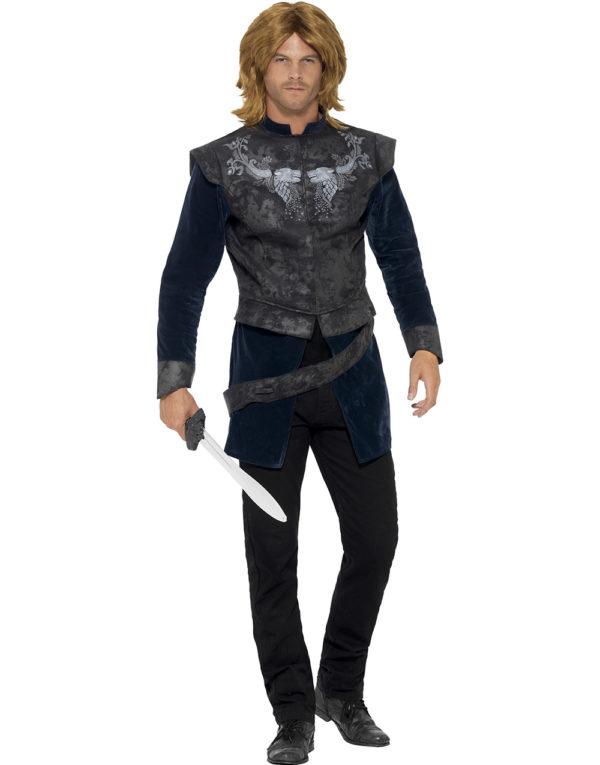 Dark Warrior - Kostymeskjorte med Belte