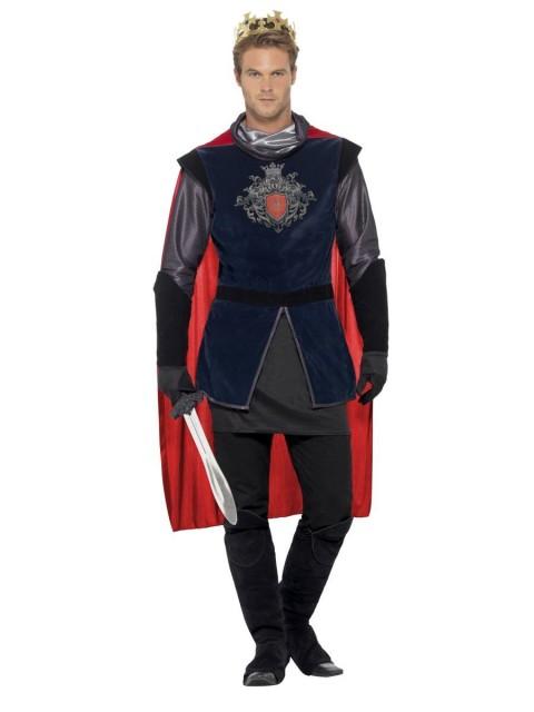 Deluxe King Arthur Kostyme - M