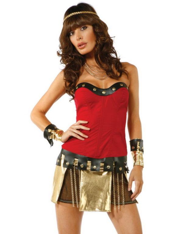 Den Romerske Gladiatoren - Kostyme