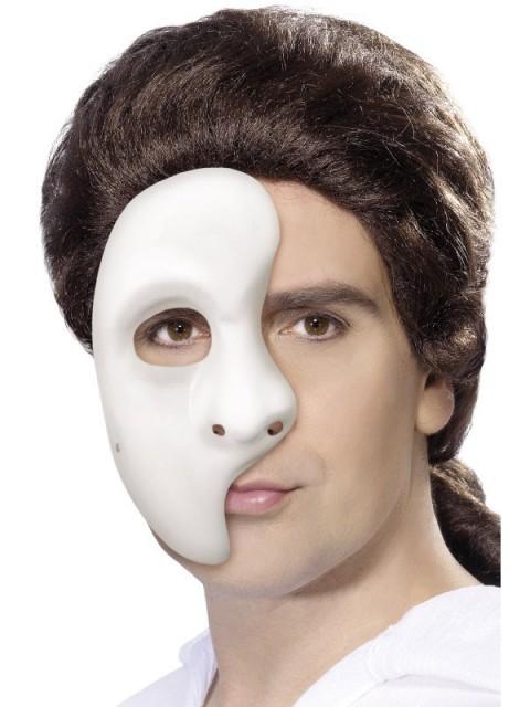 Fantom Maske Hvit