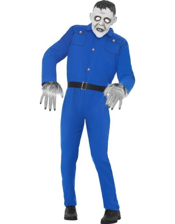 Franken Monster - Komplett Kostyme m/Maske - Strl M