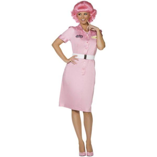 Grease Frenchy Kostyme - M