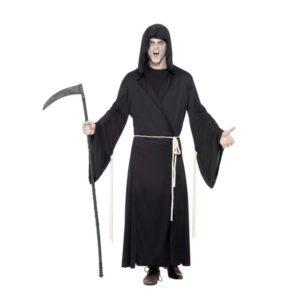 Grim Reaper Kostyme Sort - M