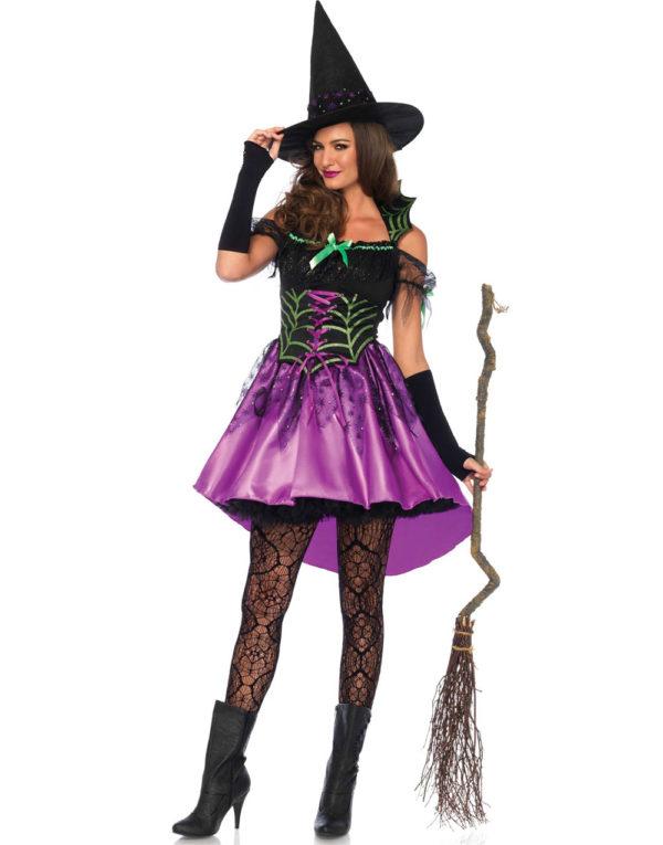 Halloween Spider Witch - Heksekostyme