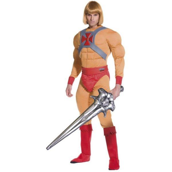 He-Man Prins Adam Muskel Kostyme - M