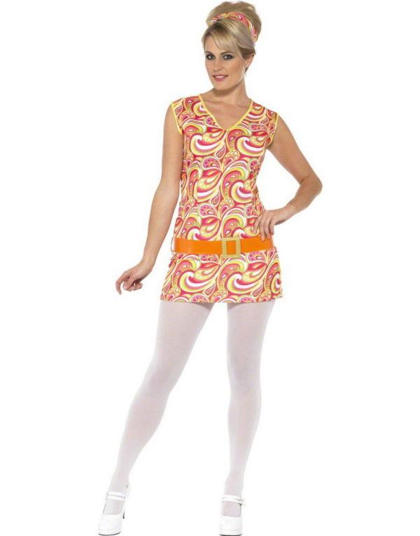 Hippie Chick - Kostyme - Strl S/M