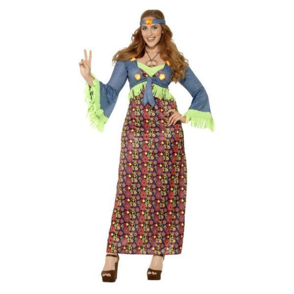 Hippie Lady Kostyme - X3