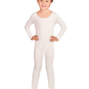 Hvit Bodysuit til Barn med Lange Ermer