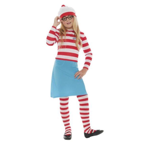 Hvor er Wilma Barnekostyme - S