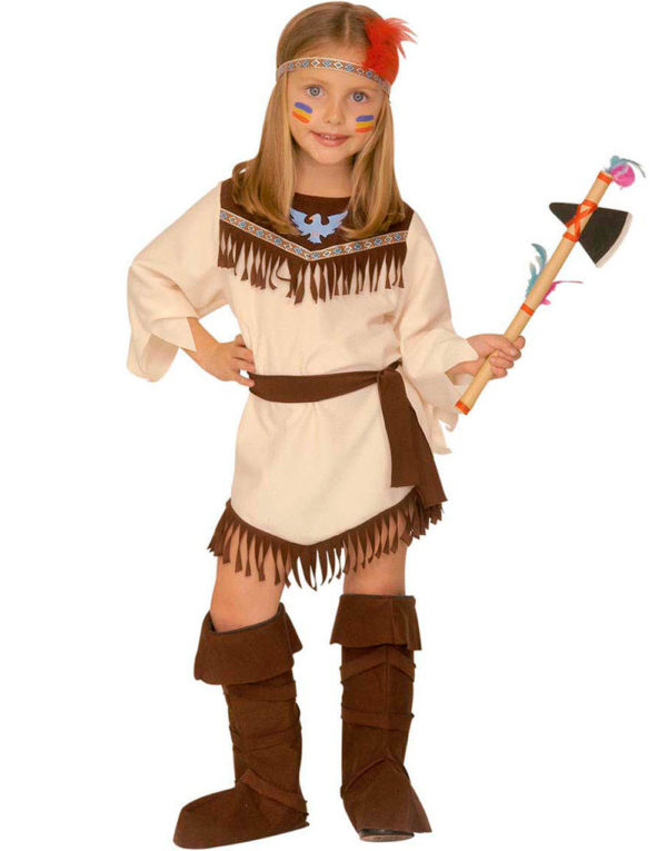 Indianerjente Barnekostyme