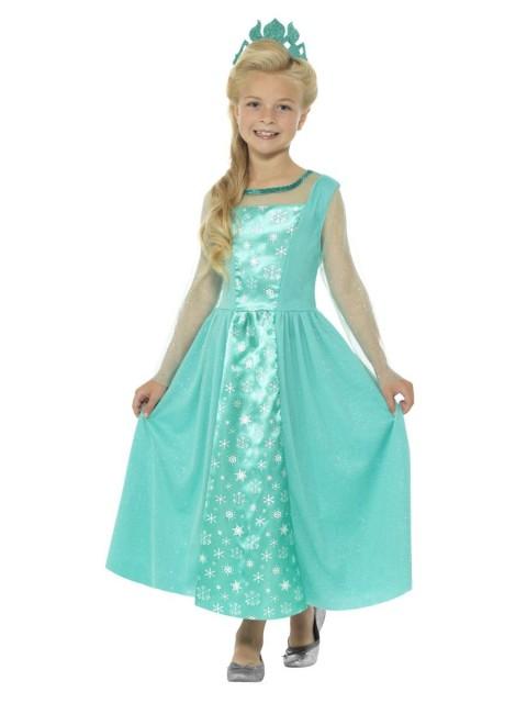 Isprinsesse Elsa Kostyme - T