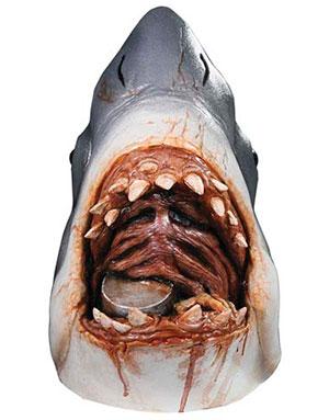 Jaws Lisensiert Luksus Latex Maske
