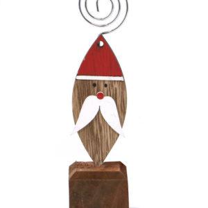 Julenisse Bordkortholder 15 cm
