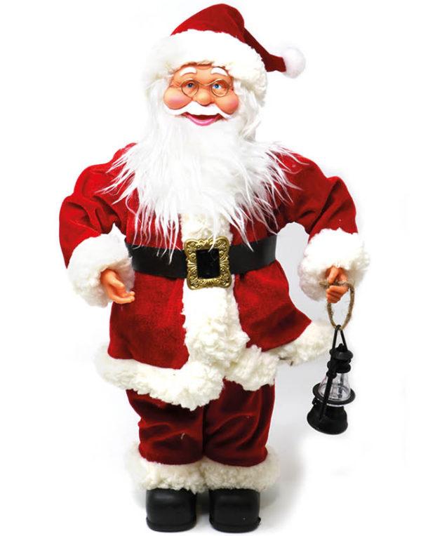 Julenissefigur med Lykt 50 cm