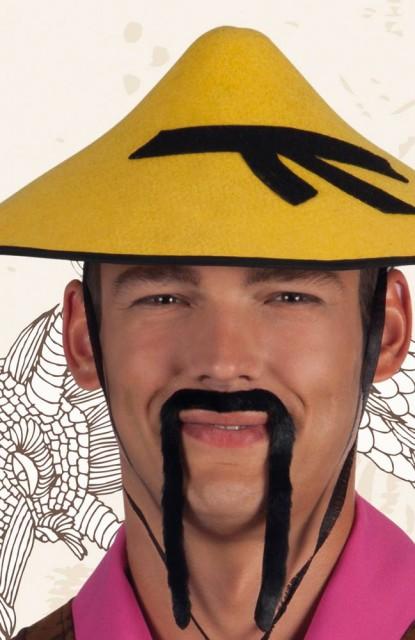 Kinesisk Bart Moustache