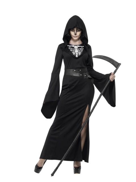 Kvinnen Med Ljåen Kostyme -X3