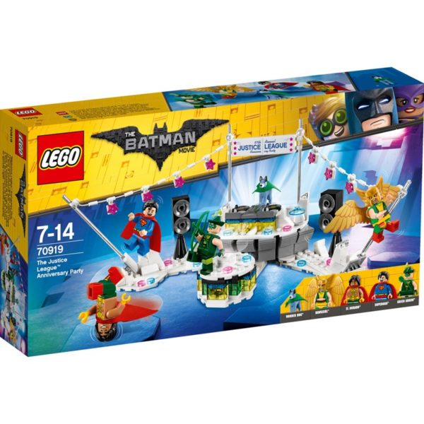 LEGO BatmanLEGO Batman Movie, 70919, The Justice League? Anniversary Party
