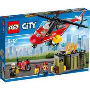 LEGO City60108 LEGO® City Brannvesenets utrykningsenhet