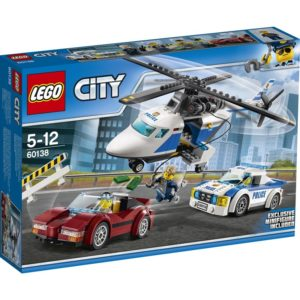 LEGO City60138, Politijakt i høy hastighet