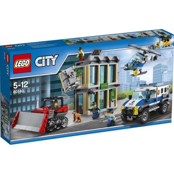 LEGO City60140 LEGO® City Innbrudd med bulldoser