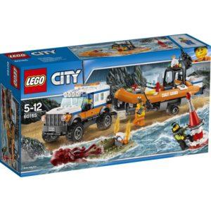 LEGO City60165 LEGO® City Firehjulstrekk Utrykningskjøretøy