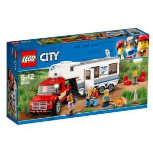 LEGO City60182 LEGO® City Pickup och campingvogn