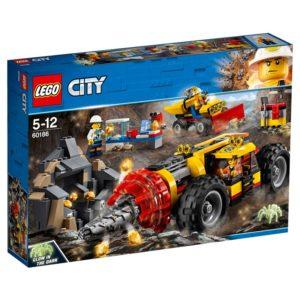 LEGO City60186 LEGO® City Mining Heavy Driller