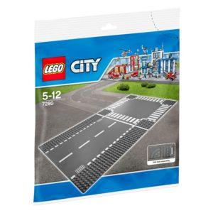 LEGO City7280, Rett vei og kryss