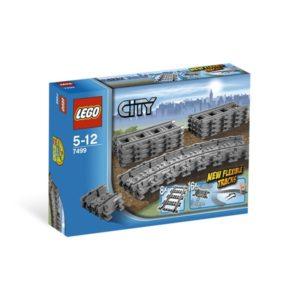 LEGO City7499, Fleksible skinneganger