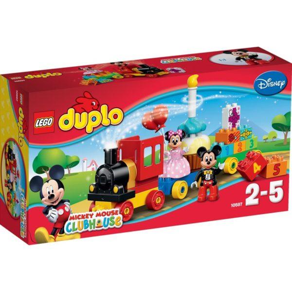 LEGO DUPLO10597, Mikke og Minnis bursdagstog