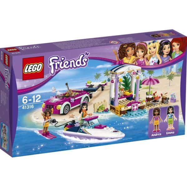 LEGO Friends41316, Andreas speedbåd-transporter